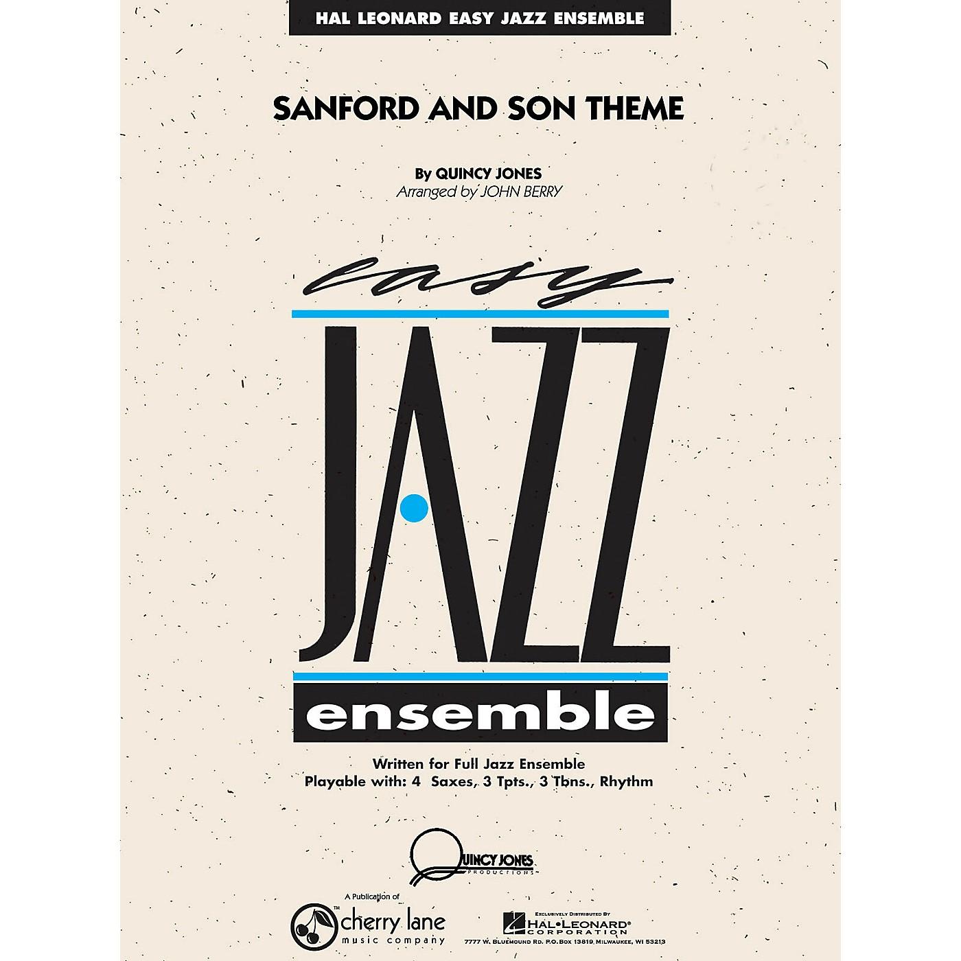 Cherry Lane Sanford and Son Theme Jazz Band Level 2 Arranged by John Berry thumbnail