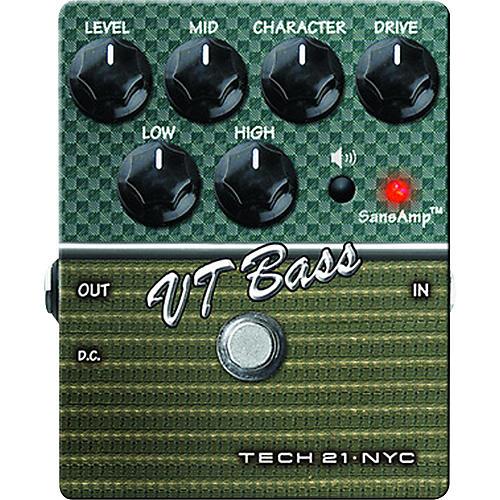 Tech 21 SansAmp Character Series VT Bass V2 Distortion Bass Effects Pedal thumbnail