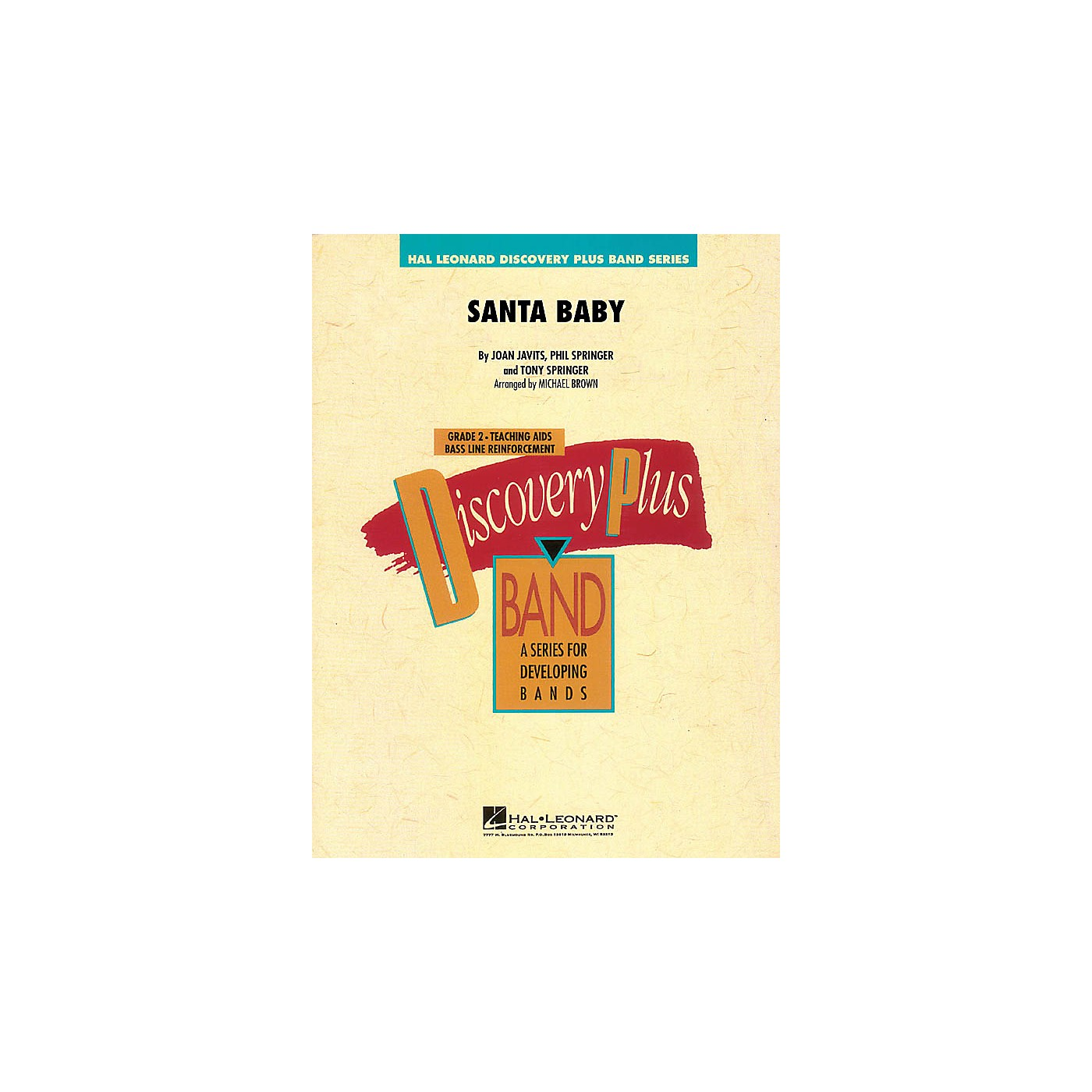 Hal Leonard Santa Baby - Discovery Plus Band Level 2 arranged by Michael Brown thumbnail