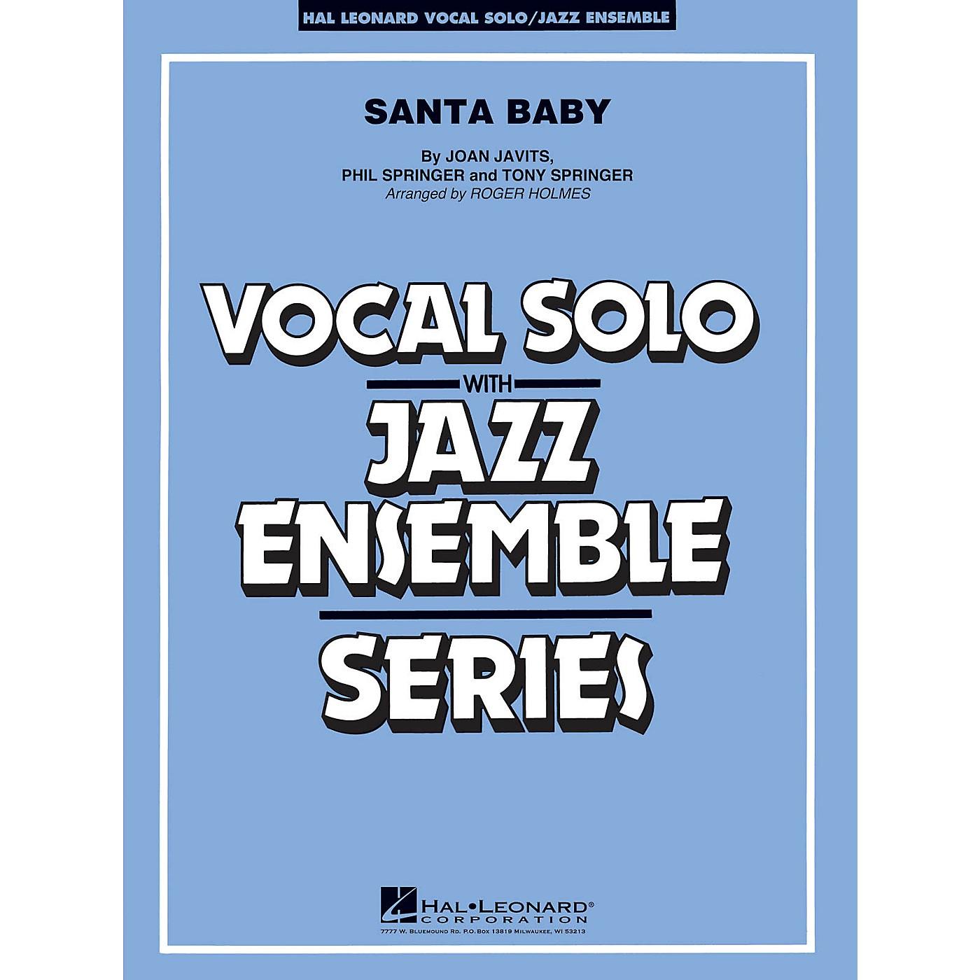 Hal Leonard Santa Baby - Vocal Solo Jazz Ensemble Series Level 4 thumbnail