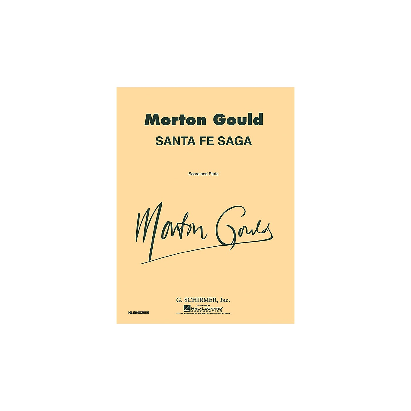 G. Schirmer Santa Fe Saga (Score and Parts) Concert Band Level 4-5 Composed by Morton Gould thumbnail