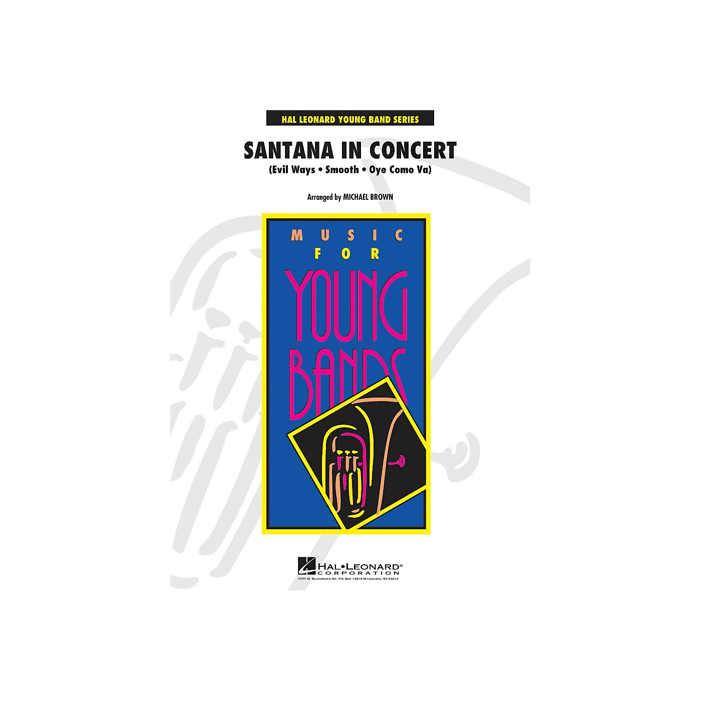 Hal Leonard Santana In Concert - Young Band Series Level 3 thumbnail