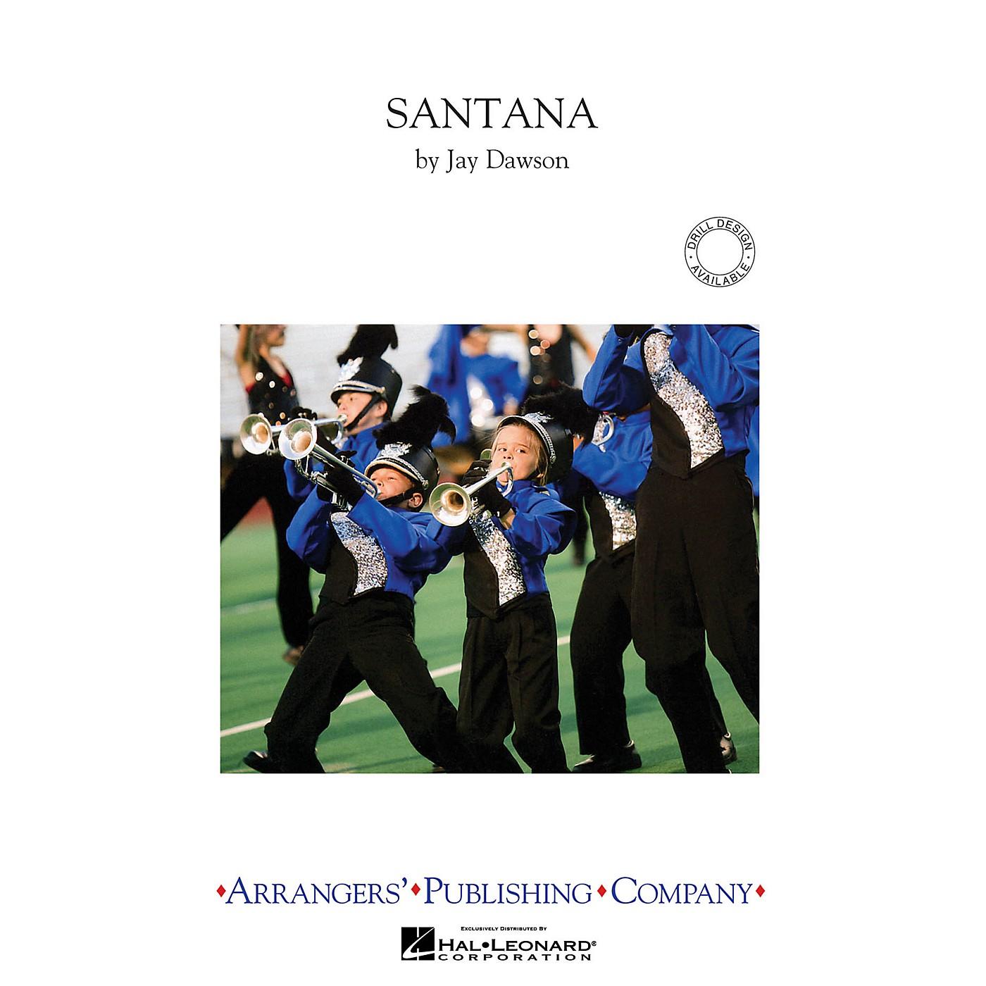 Arrangers Santana Marching Band Level 3 Arranged by Jay Dawson thumbnail
