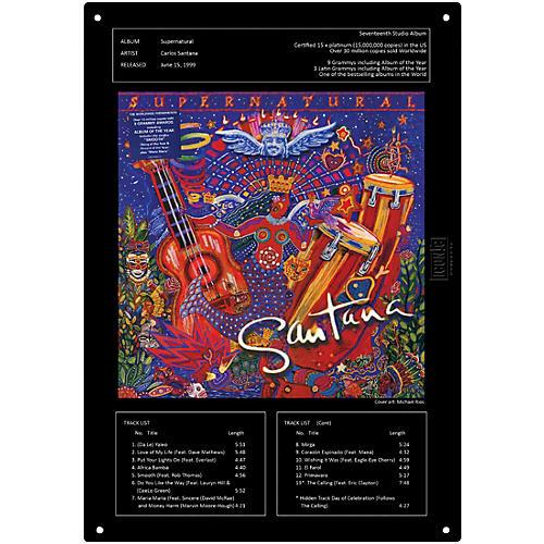 Iconic Concepts Santana Supernatural Tin Sign 15-3/4