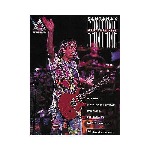Hal Leonard Santana's Greatest Hits Guitar Tab Songbook thumbnail