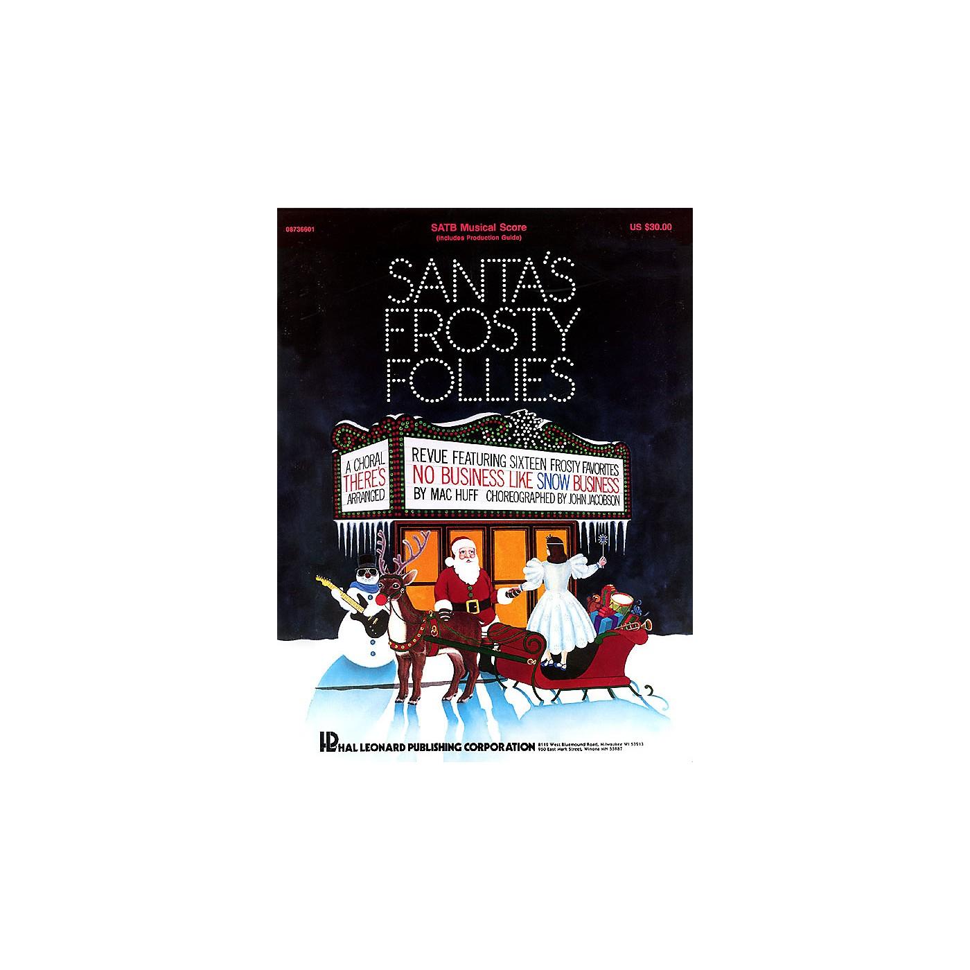 Hal Leonard Santa's Frosty Follies (Choral Revue) SATB thumbnail