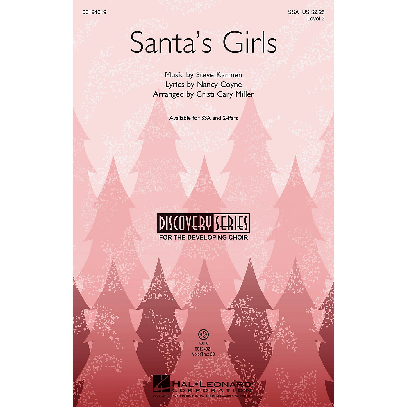 Hal Leonard Santa's Girls (Discovery Level 2) VoiceTrax CD Arranged by Cristi Cary Miller thumbnail