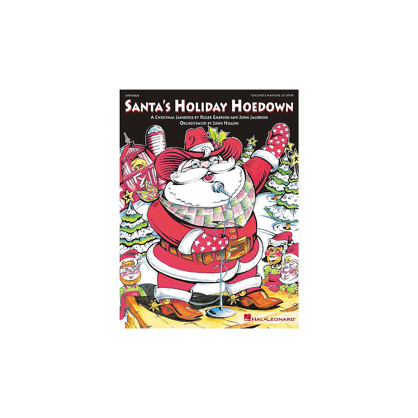 Hal Leonard Santa's Holiday Hoedown (Musical) ShowTrax CD Composed by Roger Emerson thumbnail