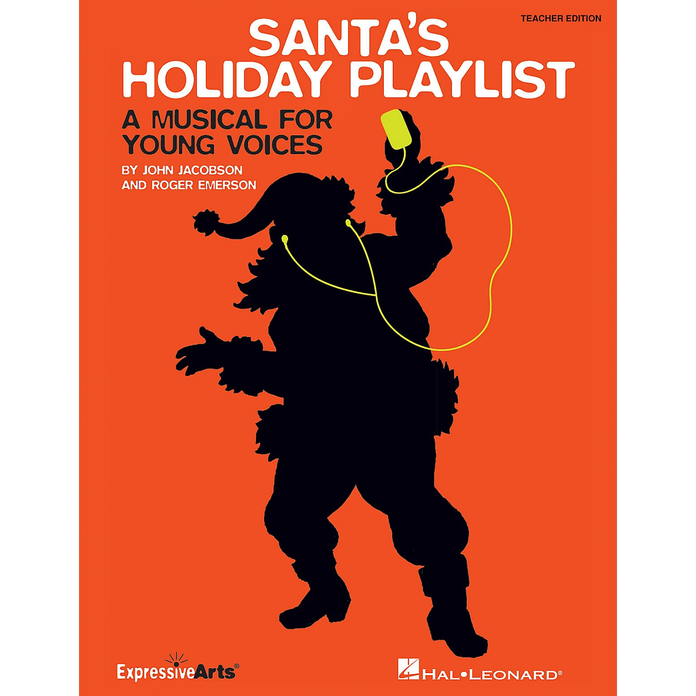 Hal Leonard Santa's Holiday Playlist (A Musical for Young Voices) TEACHER ED Composed by Roger Emerson thumbnail