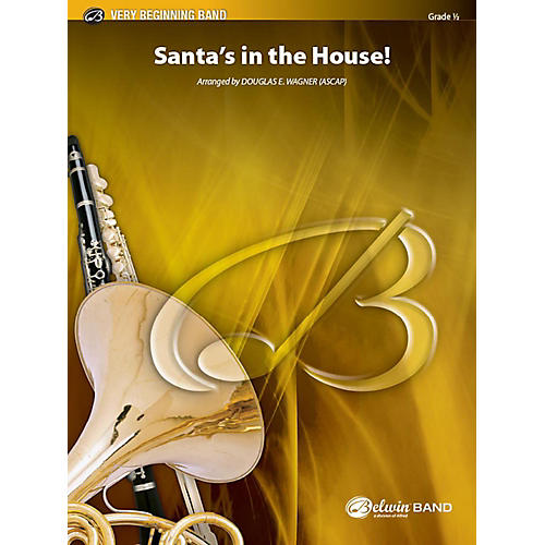 Alfred Santa's in the House! Concert Band Grade 0.5 Set thumbnail