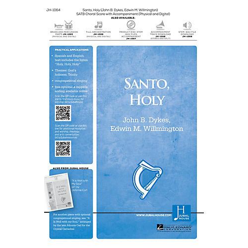 Jubal House Publications Santo, Holy SATB composed by Edwin M. Willmington thumbnail