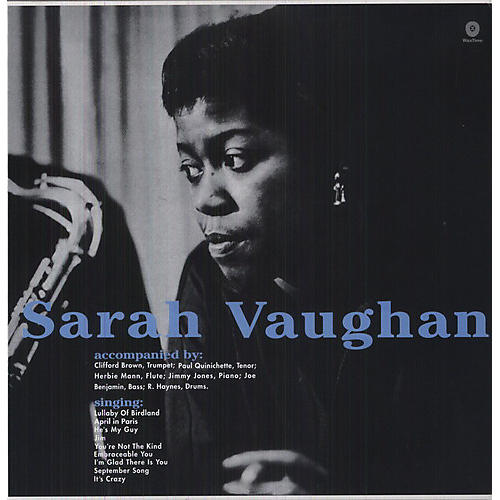 Alliance Sarah Vaughan - With Clifford Brown thumbnail