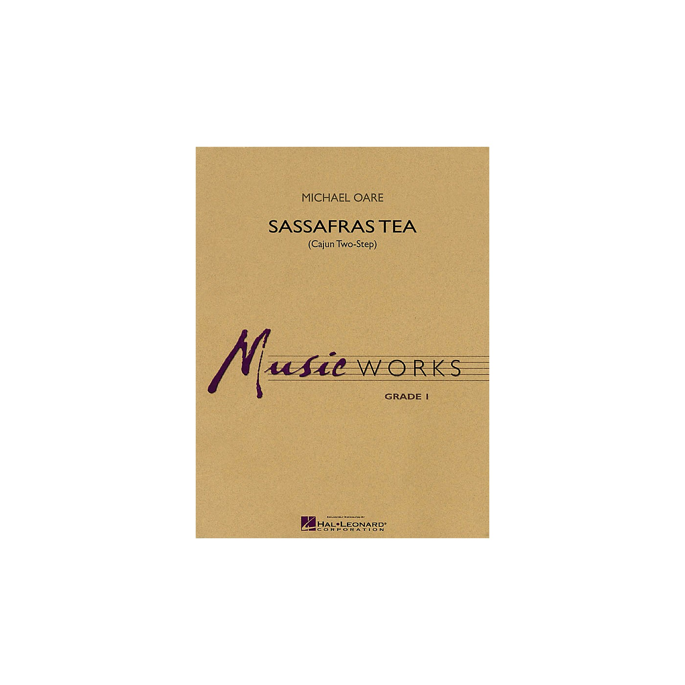 Hal Leonard Sassafras Tea (Cajun Two-Step) Concert Band Level 1.5 Composed by Michael Oare thumbnail