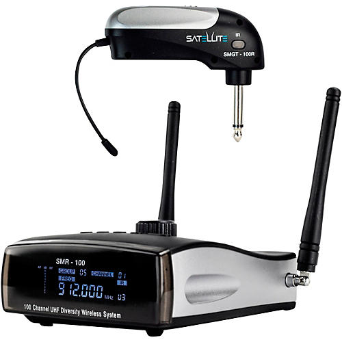 Nady Satellite SMGT-100R True Diversity Wireless Instrument System for Electric Guitar or Bass, Side Mounted thumbnail