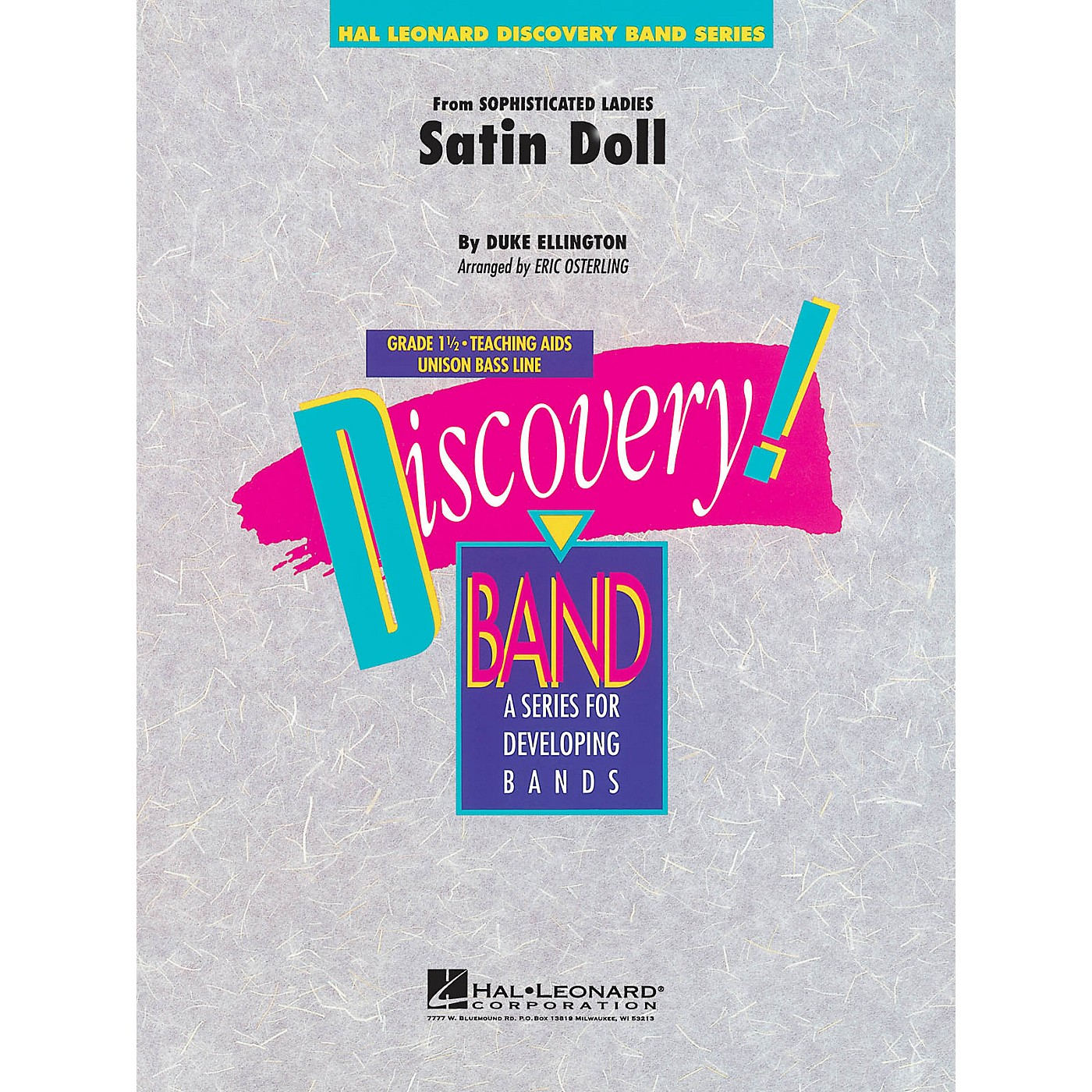 Hal Leonard Satin Doll Concert Band Level 1.5 Arranged by Eric Osterling thumbnail