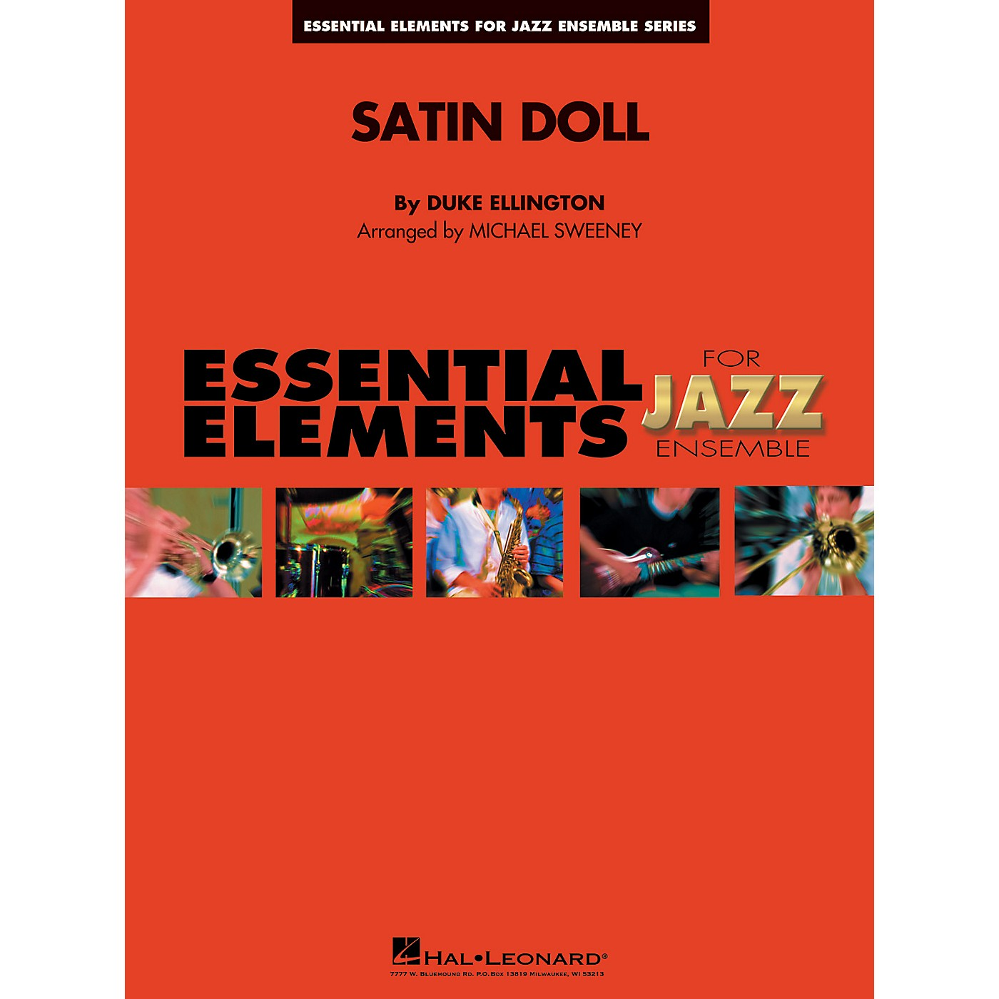 Hal Leonard Satin Doll Jazz Band Level 1-2 Arranged by Michael Sweeney thumbnail