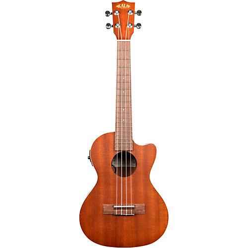 Kala Satin Mahogany Tenor Cutaway Acoustic-Electric Ukulele thumbnail