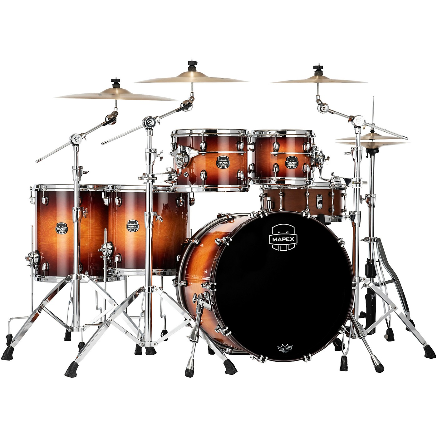 Mapex Saturn Evolution Workhorse Maple 5-Piece Shell Pack with 22 in. Bass Drum thumbnail