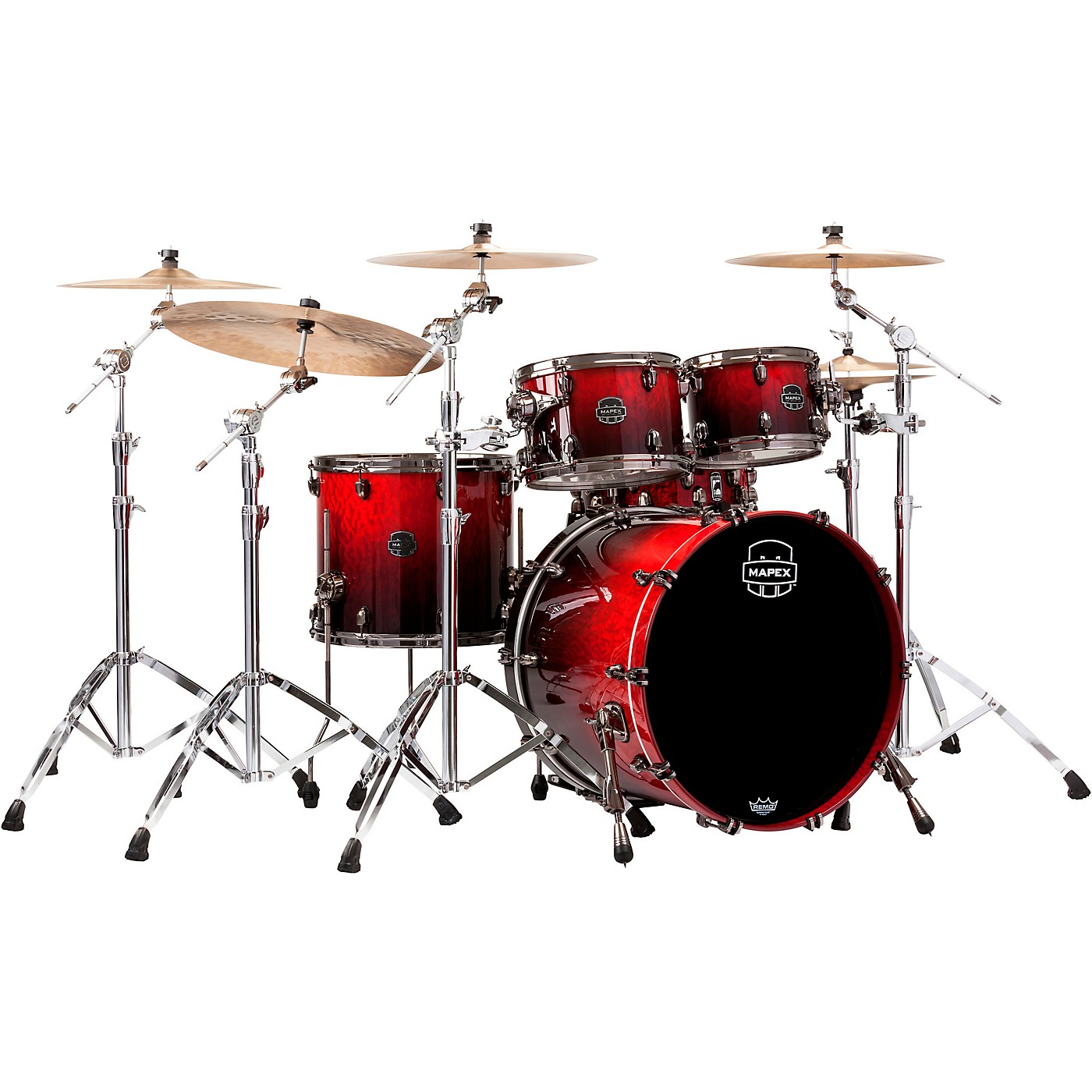 Mapex Saturn V Exotic Edition 4-Piece Rock Shell Pack thumbnail