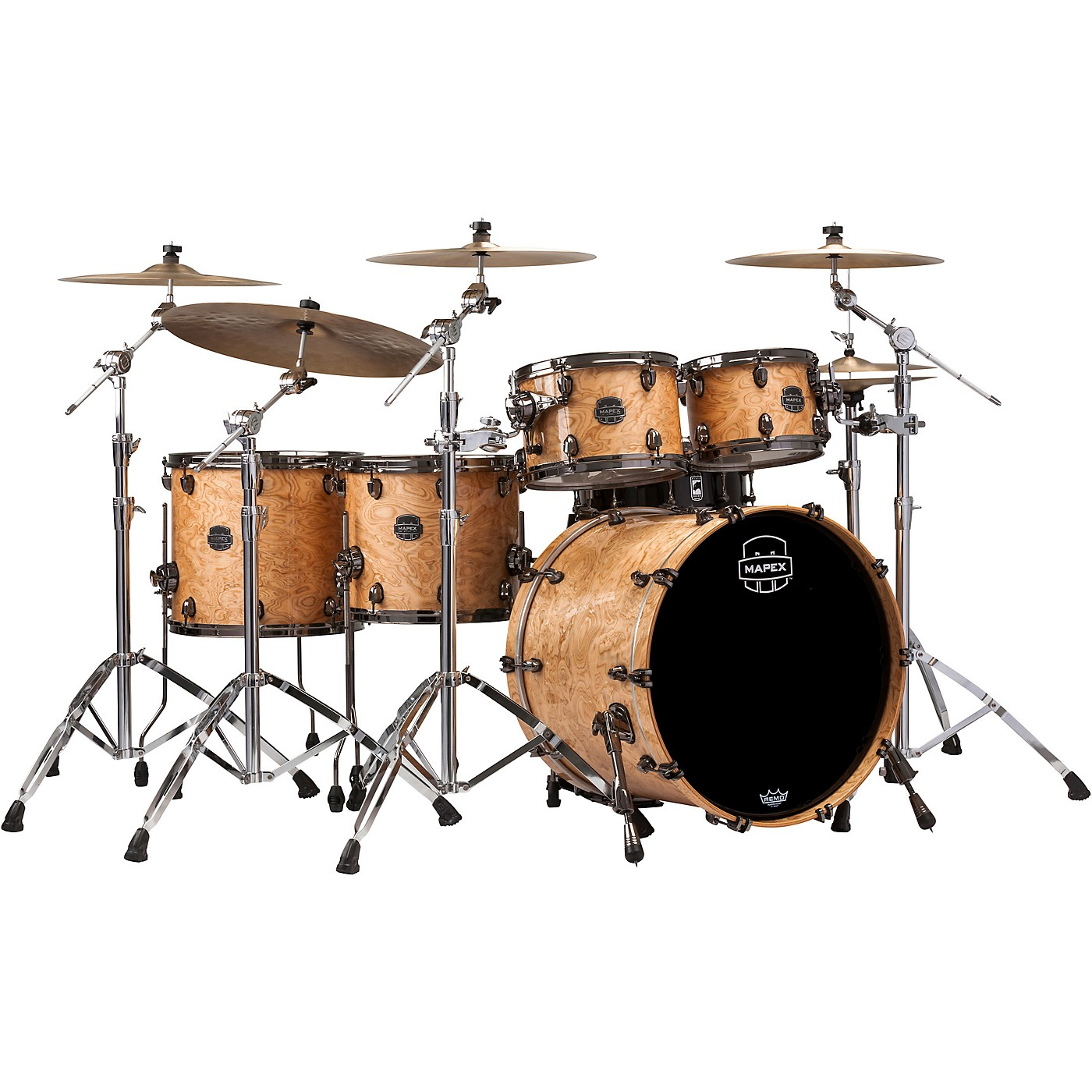 Mapex Saturn V Exotic Edition 5-Piece Studioease Shell Pack thumbnail