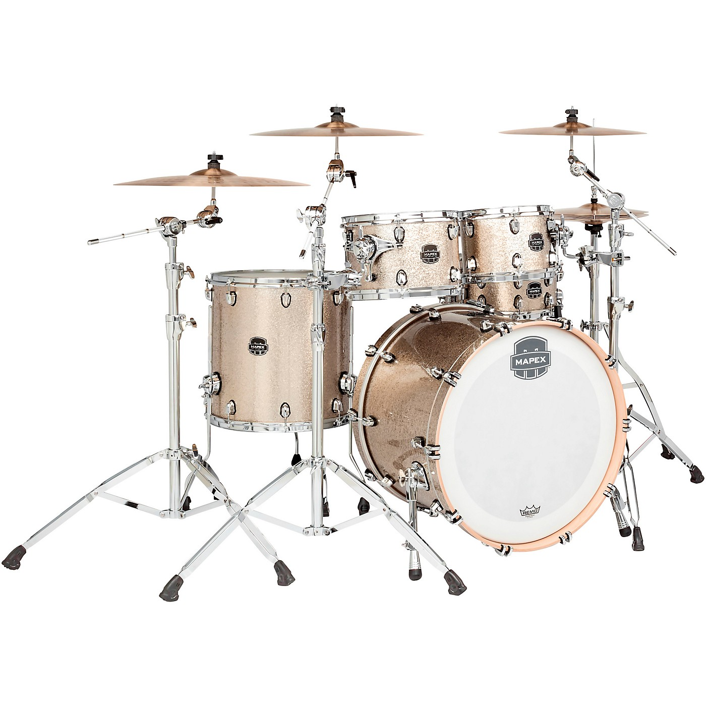 Mapex Saturn V Tour 4-Piece Shell Pack with 22 in. Bass Drum thumbnail