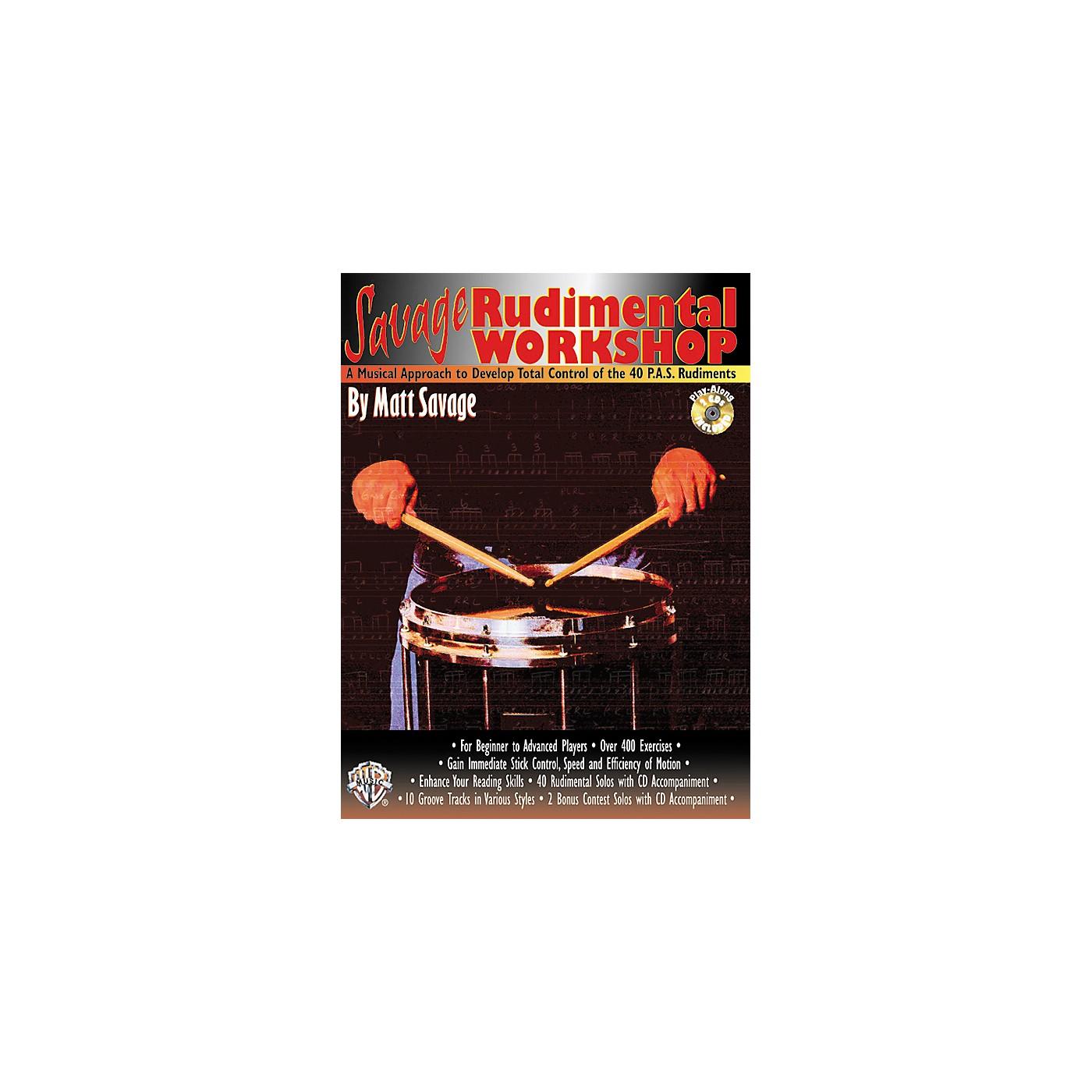 Alfred Savage Rudimental Workshop (Book/CD) thumbnail