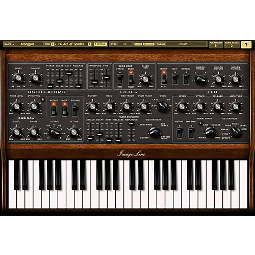 Image Line Sawer Virtual Synthesizer Software thumbnail