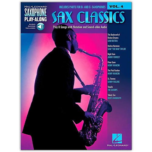Hal Leonard Sax Classics - Saxophone Play-Along Vol. 4 (Book/Online Audio) thumbnail