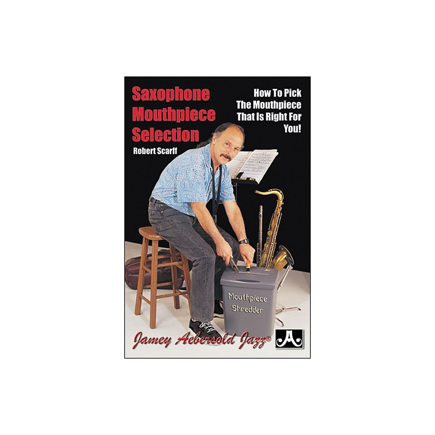 Jamey Aebersold Saxophone Mouthpiece Selection (Book) thumbnail