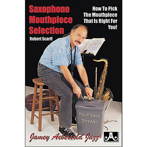 Jamey Aebersold Saxophone Mouthpiece Selection (Book)-thumbnail