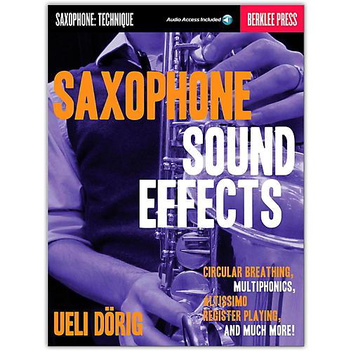Berklee Press Saxophone Sound Effects (Book/Online Audio) thumbnail