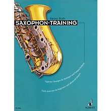 Schott Saxophone Training (Daily Exercises for Beginners and Advanced Players) Schott Series Book