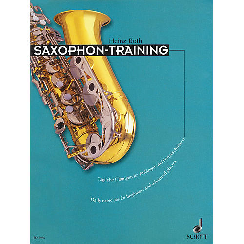 Schott Saxophone Training (Daily Exercises for Beginners and Advanced Players) Schott Series Book thumbnail