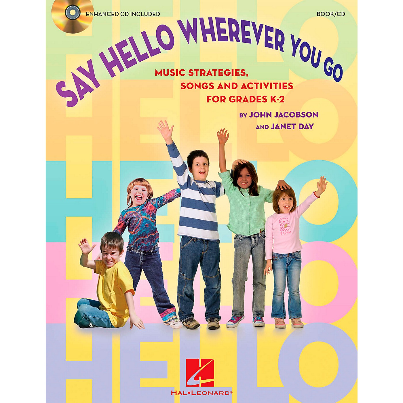 Hal Leonard Say Hello Wherever You Go - Music Strategies, Songs and Activities for Grades K-2 Book/CD thumbnail