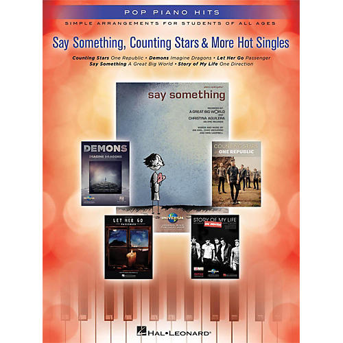 Hal Leonard Say Something, Counting Stars & More Hot Singles for Easy Piano thumbnail