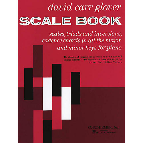 G. Schirmer Scale Book (Piano Technique) Piano Method Series Composed by David Carr Glover thumbnail