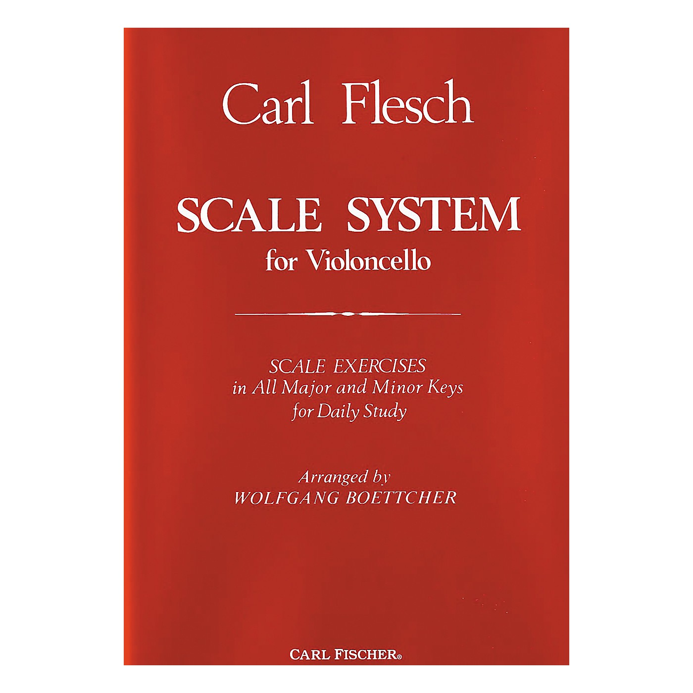 Carl Fischer Scale System For Violoncello thumbnail