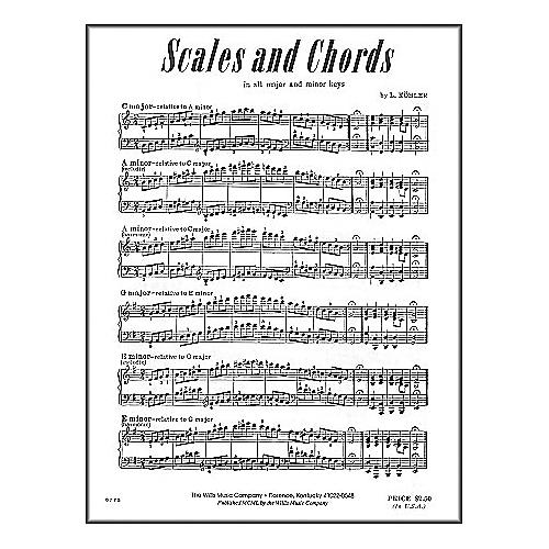 Willis Music Scales And Chords In All Major & Minor Keys by Louis Kohler thumbnail