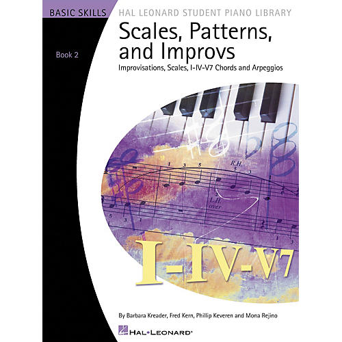 Hal Leonard Scales Patterns And Improvs - Book 2 thumbnail