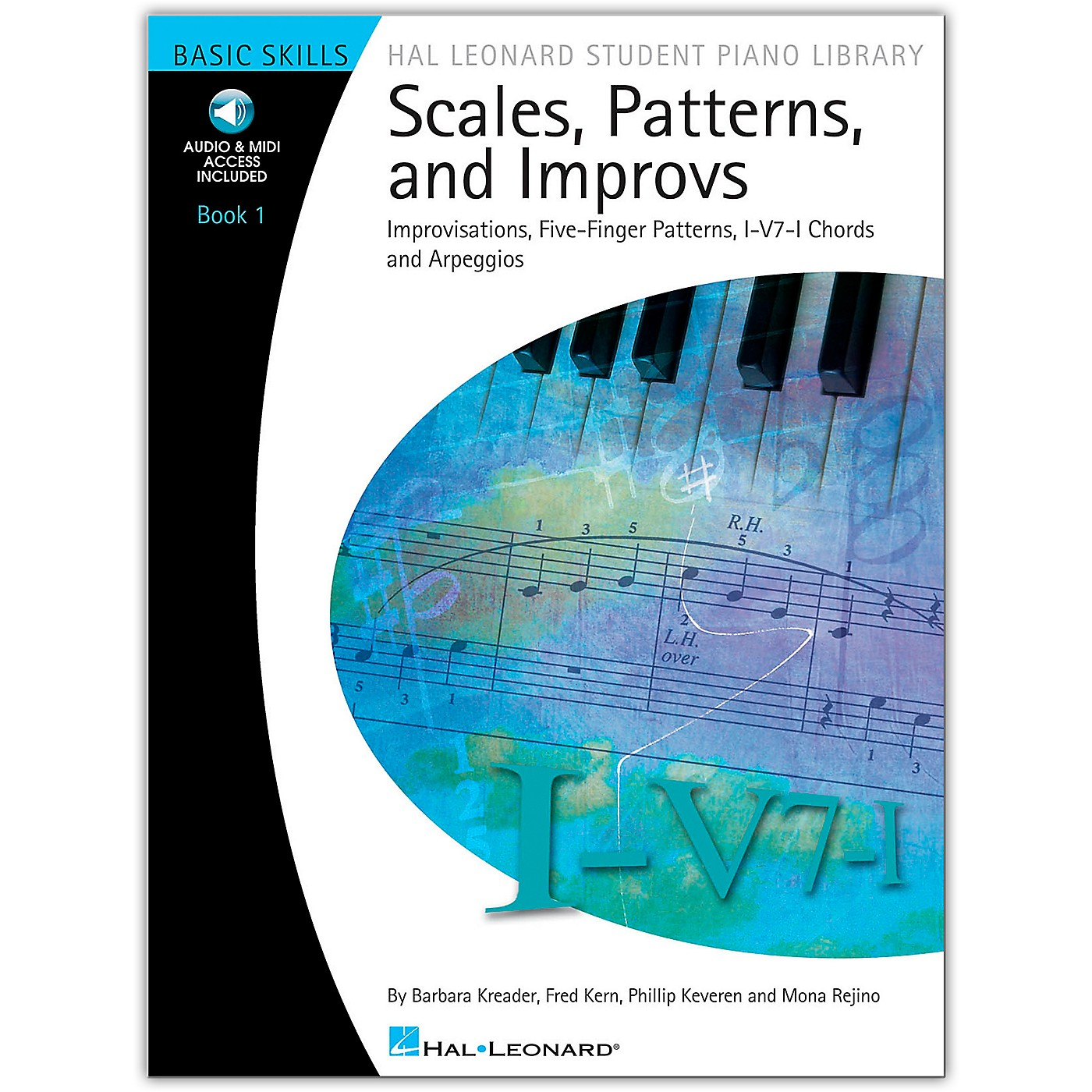 Hal Leonard Scales, Patterns And Improvs - Book/Online Audio 1 - Hal Leonard Student Piano Library Book/Online Audio thumbnail