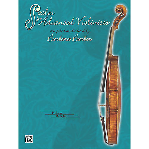 Alfred Scales for Advanced Violinists (Book) thumbnail
