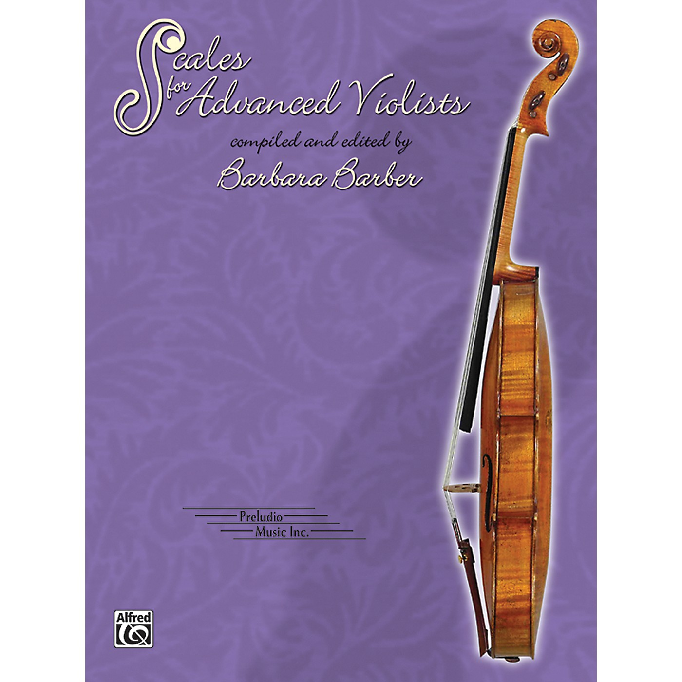 Alfred Scales for Advanced Violists Book thumbnail