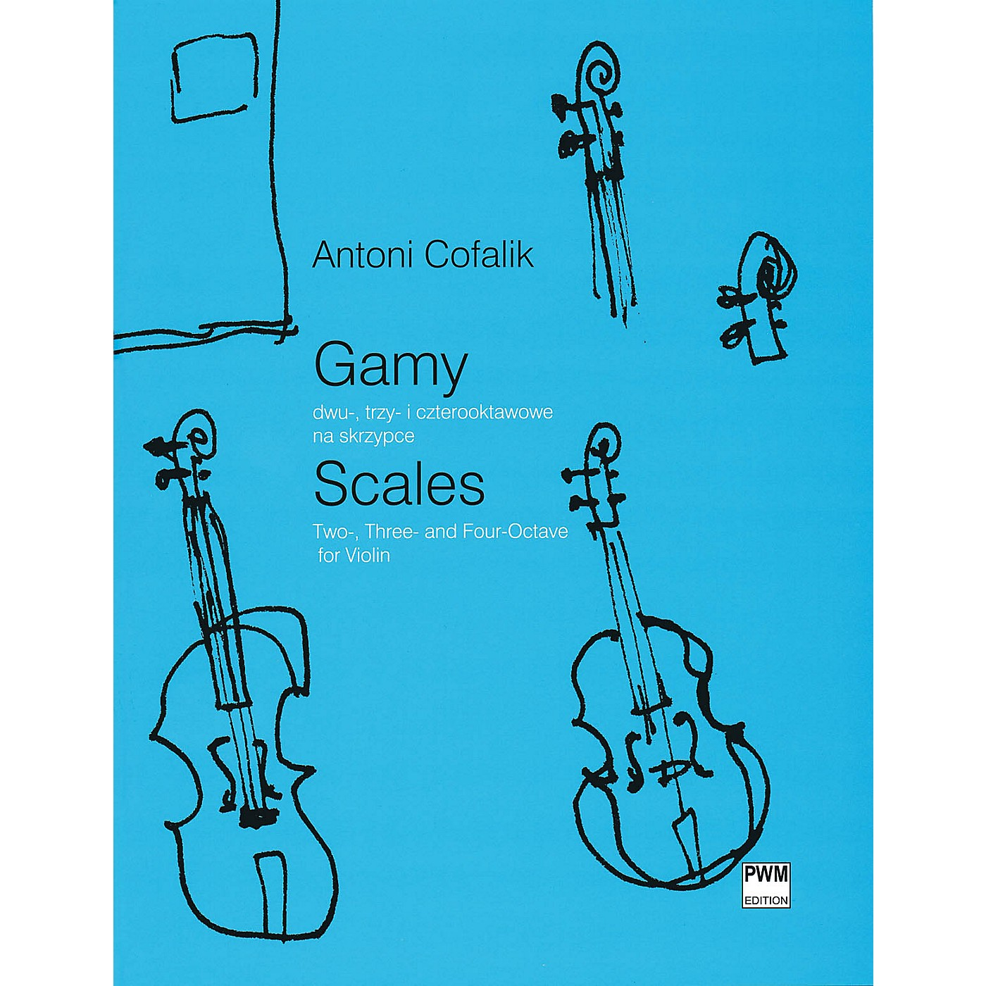 PWM Scales for Violin (Two-, Three- and Four-Octave) PWM Series Softcover thumbnail