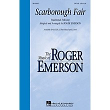 Hal Leonard Scarborough Fair SAT(B) arranged by Roger Emerson