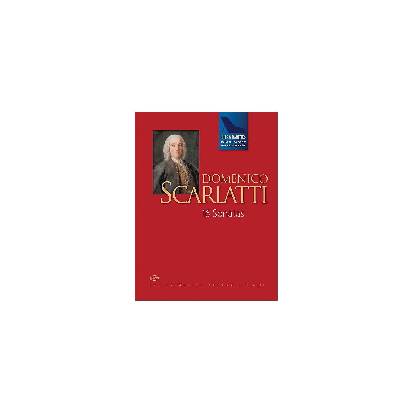 Editio Musica Budapest Scarlatti Hits & Rarities EMB Series Softcover Composed by Domenico Scarlatti Edited by Judit Péteri thumbnail