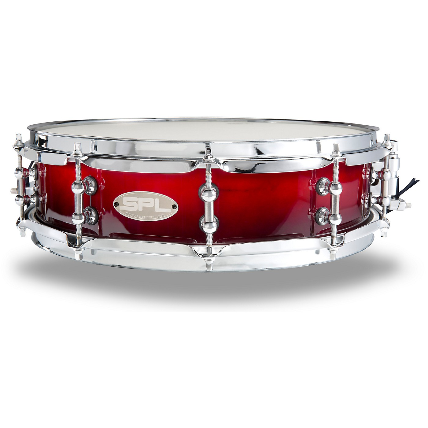 Sound Percussion Labs Scarlet Fade Lacquer Snare Drum thumbnail