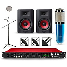 Focusrite Scarlett 18i20 Recording Package with MXL 4000 and M-Audio Limited Edition BX5 Pair