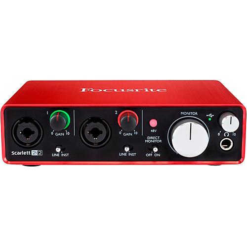 Focusrite Scarlett 2i2 (2nd Generation) USB Audio Interface thumbnail