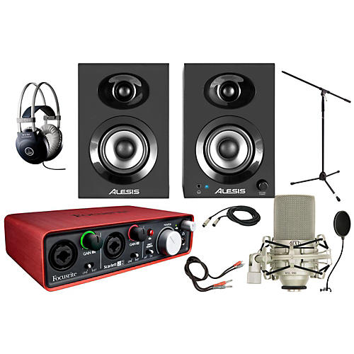 Focusrite Scarlett 2i2 MXL 990 Package thumbnail