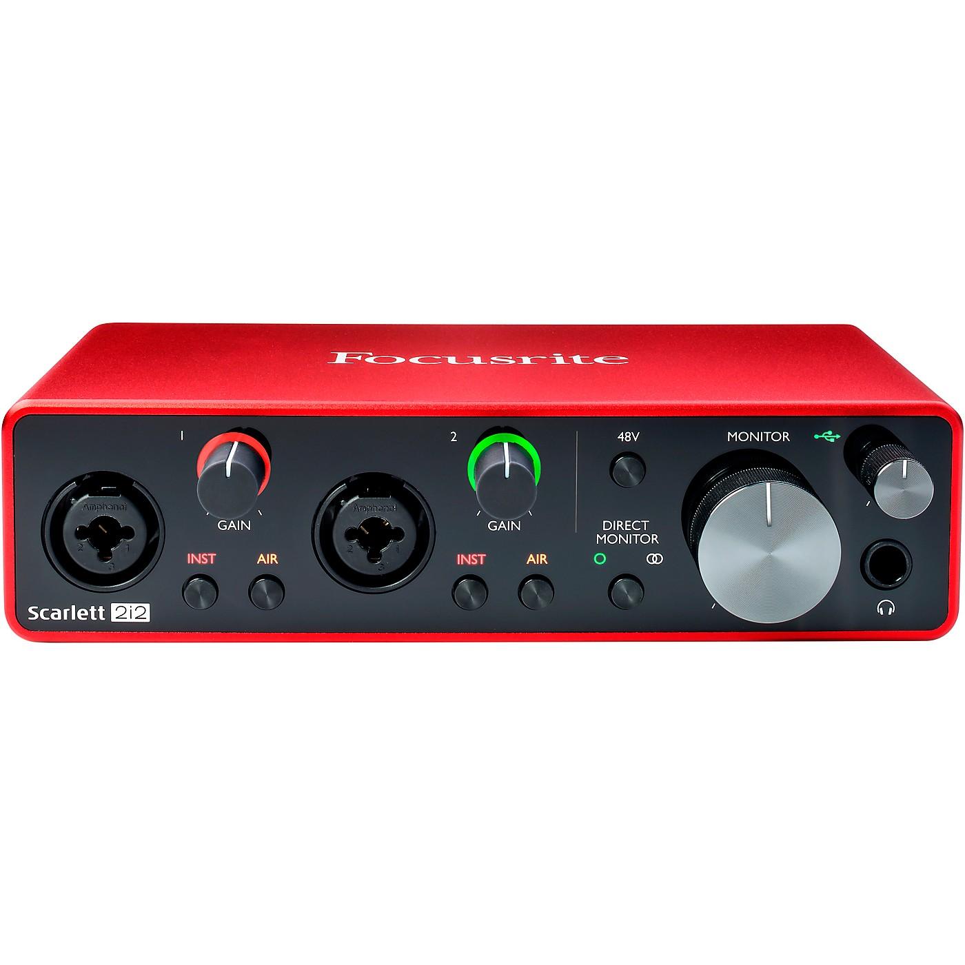 Focusrite Scarlett 2i2 USB Audio Interface (Gen 3) thumbnail